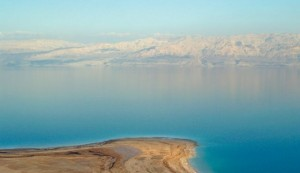 The Dead Sea smooth as a mirror