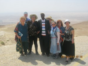 Our Kenyan Apostle, Christopher Simiyu-Bera, a Maasai, first planted G-d's Word on this mountain before sending it forth across the northern Negev.