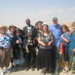 "The ""Shofar team, from left to right: Sally Nagy, Sylvie Brocqueville, Phyllis Nataf, Chris Simiyu-Bera, Elinor Rasco,  Ruhama Heeger-Deaton, Alan Vanderkolk, Denise Corcoran, Eireen."