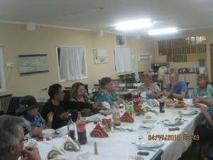 """We were 10 around the Shabbat table, Howard doing the blessing in an """"untraditional"""" manner."""