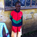 This pretty girl was named in my honor after me - Annelore - because she was born in 2004 the day I arrived for the first time at Bera's house in Webuye. [see http://ortzion.org/travel_type/kenya-brussels]