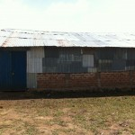 This is the side view of Bishop Bera's church where we held the 4-day conference