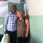 Bera's son Mike, 30, a licensed tour guide and bus driver, and a wonderful disciple of Yeshua.