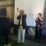 Bishop Bera opened and closed each day with sounding the shofar 7 times