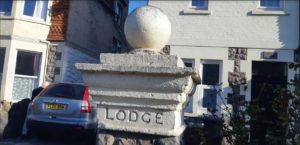 Britain - LODGE pillar