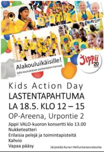 Finland - Kids Action annual festival