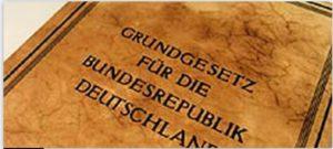 Grundgesetz book, leatherbound