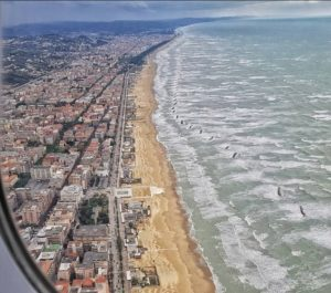 Pescara, Adriatic beach